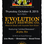 evolution brewing meet and greet